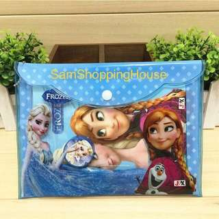 Frozen Stationery Set / folder / party / present / goodie bag