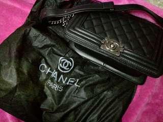 CHANEL PARIS BLACK