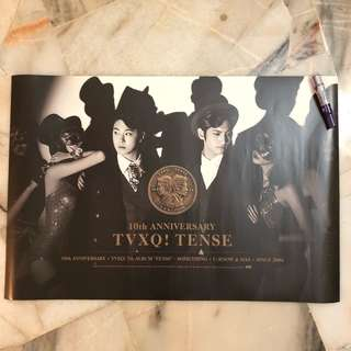 [Clearance] TVXQ Tense - Official poster