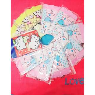Sanrio hello kitty pompompurin cinnamaroll card holder