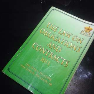 Law on Obligations and Contract