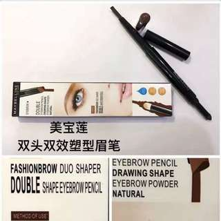 Maybelline eyebrow double pencil