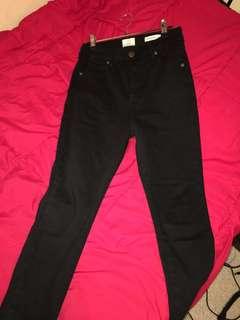 Cotton on high grazer skinny jeans size 12