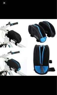 ROSWHEEL New Bike Sports Bicycle Frame Pannier Front Tube Hot Bike Bicycle Basket Saddle Bag