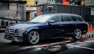 1 and only Mercedes Stationwagon for rental.