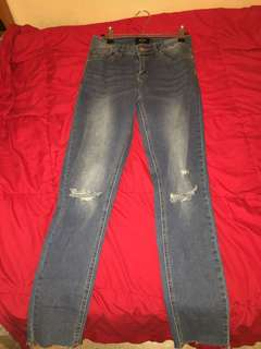 Factorie mid rise skinny fit jeans size 10