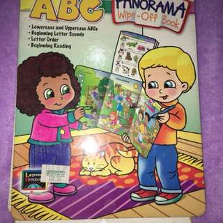 ABC Wipe-off Book