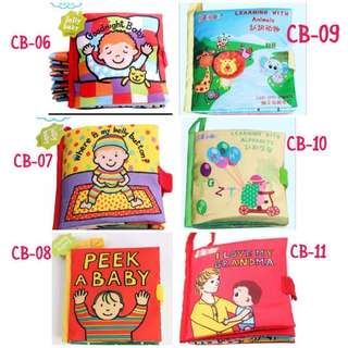 Cloth book for baby and kids