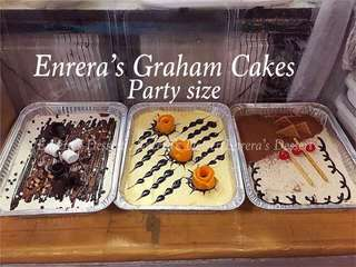 Party Size Graham Cake