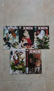"X-Men Vol 3 (Marvel Comics 5 Issues; #7 to 11, complete story arc on ""With Great Power"")"