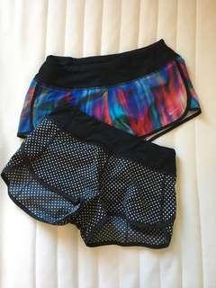 Lululemon & Nike Athletic Shorts