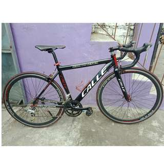 CALLE FULL ALLOY ROADBIKE (FREE DELIVERY AND NEGOTIABLE!) not folding bike