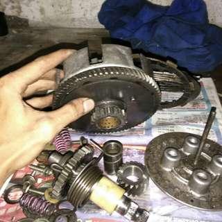 Mangkuk clutch rxs set