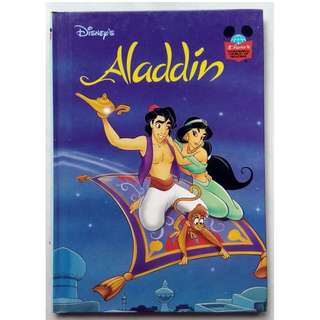 Preloved Disney Story Book - Aladdin