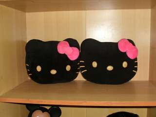 hello kitty headrest pillow