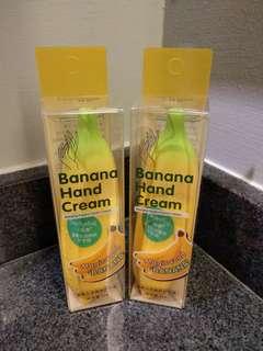 Banana Hand Cream so moist!!! Recommended