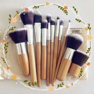 Bamboo Brush Set 😍