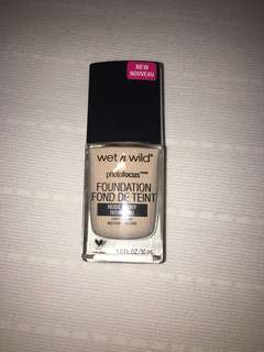 Preloved Wet n Wild Photofocus Foundation shade Nude Ivory
