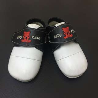 Black/White Toddler Shoes