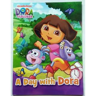 Dora The Explorer Activity Book - A Day with Dora