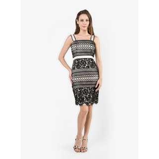 BNWT Premium Lace Crochet Bodycon Dress
