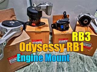 Honda Odyssey RB1 RB3 Engine Mounting