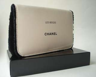 Chanel Les Beiges makeup bag with mirror