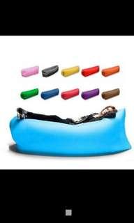 🚚 野外露營必備品 野外休閒  空氣沙發 空氣床 #露營必備    藍色款