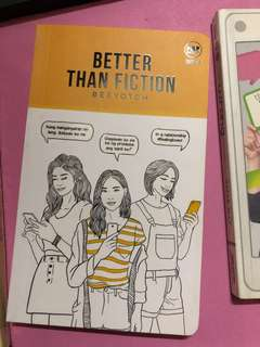 Better Than Fiction (pop fic book)