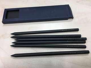 Ralph Lauren black pencils set