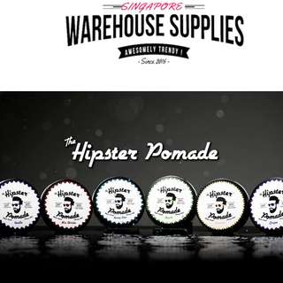 HIPSTER HAIR POMADE [ FREE STICKER/WRISTBAND]