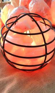 Himalayan Salt Lamp Iron Globe