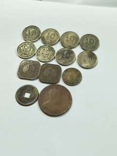 Old Coins 13pcs