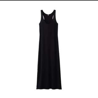 UNIQLO | Black Long Dress