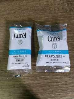 Curél 保濕套裝(爽膚水+面霜)