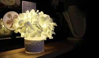 繡球花花盤LED小夜燈