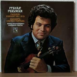 Itzhak Perlman Paganini Violin Concerto 1 Sarasate Carmen Fantasie EMI C 063-02235