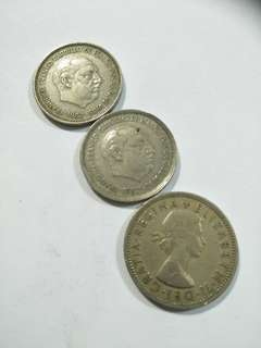Old Coins 3pcs