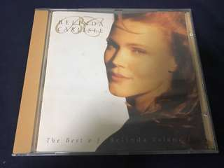 BELINDA CARLISLE THE BEST OF BELINDA VOL 1