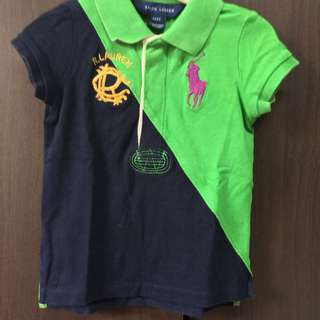 Authentic Ralph Lauren Shirt logo