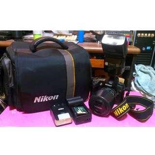 Nikon D70s with macro lens