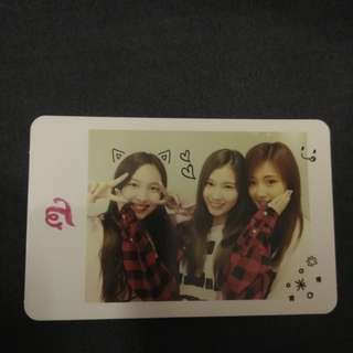Official twice group photocard