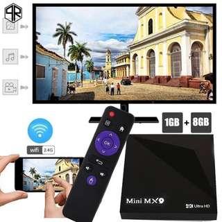 Flash Sale till 30/4 RUPA Mini MX9 Android 5.1 Android TV Box.