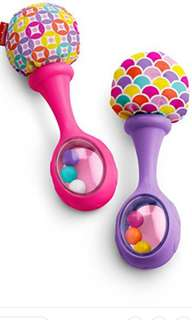 Rattle for Baby Fisher-Price Rattle n Rock Maracas