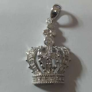 925 銀皇冠吊嘴 925 silver Crown pendant
