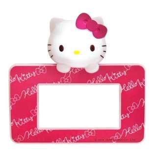🚚 三麗鷗HELLO KITTY凱蒂貓大孔造型感應式LED開關蓋板