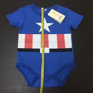 Captain America Romper