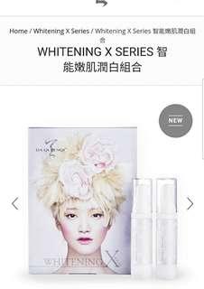 da queenqi 女天姬 WHITENING X SERIES 智能嫩肌潤白組合 (最後2盒)