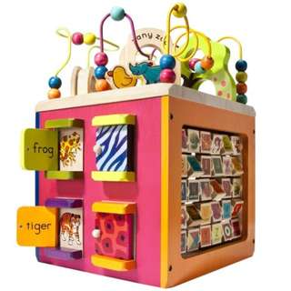 B. Toys Zany Zoo Activity Cube
