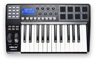Worlde Panda 25 MIDI USB Keyboard Controller 25-Key with 8 Pads